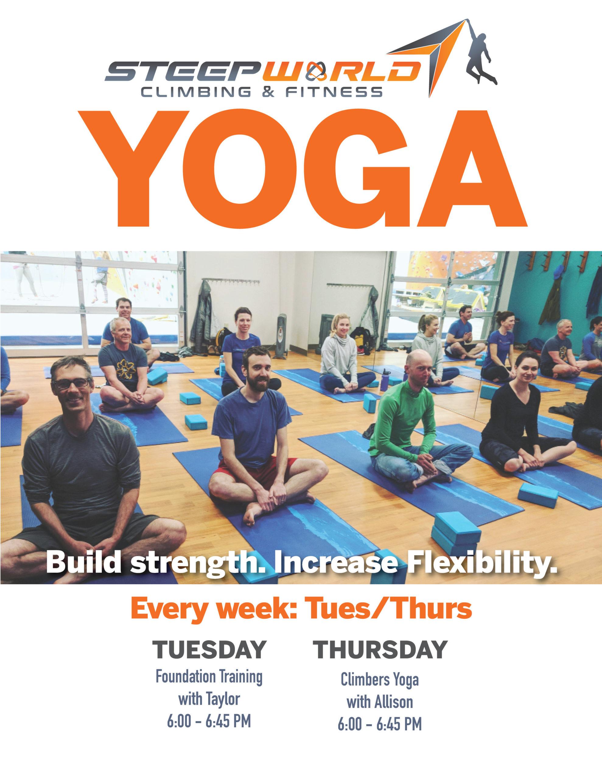 Yoga Live Schedule